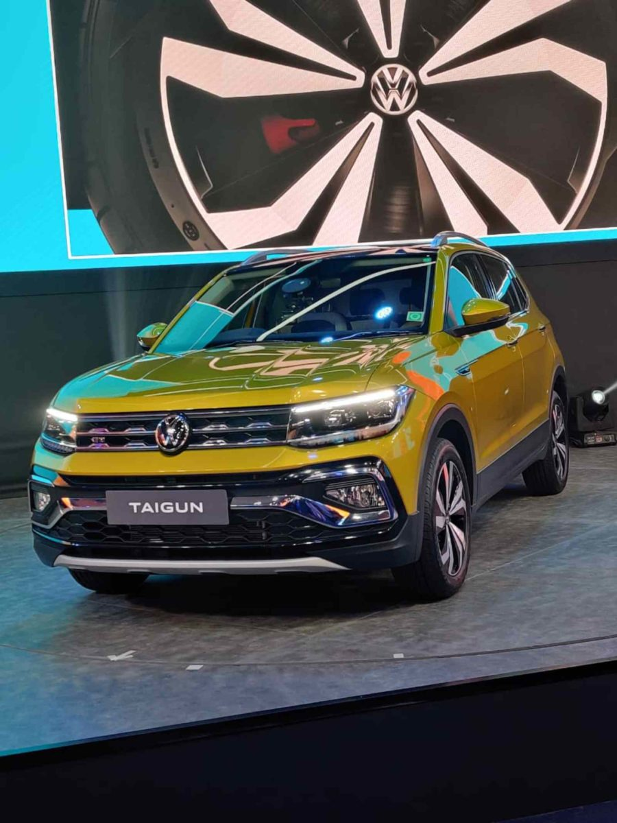 VW Taigun launched in India