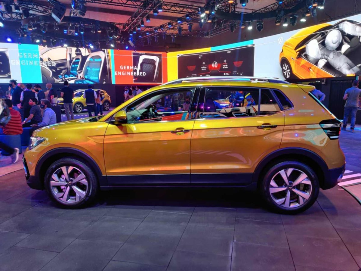 VW Taigun launched in India side