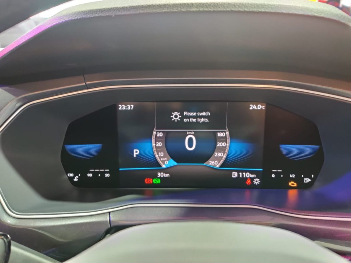 VW Taigun launched in India virtual cockpit