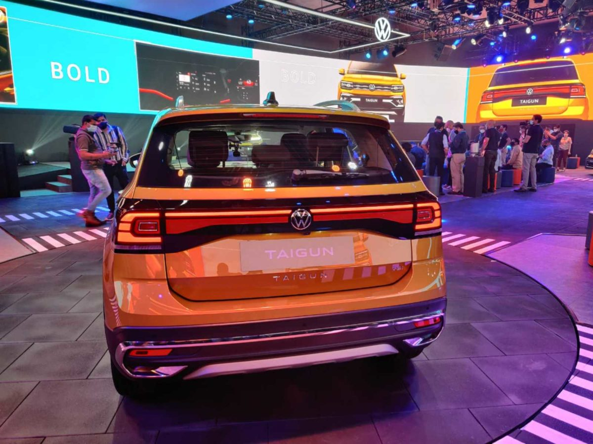 VW Taigun launched rear