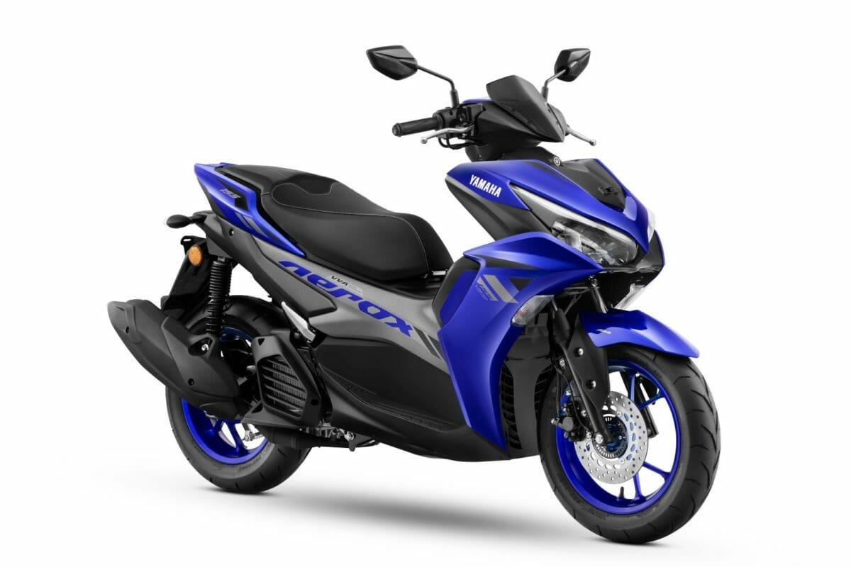 Yamaha Aerox 155 Racing Blue 1