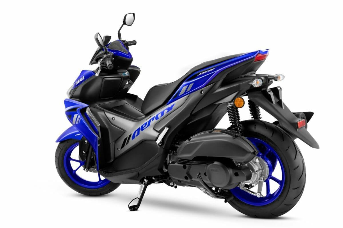 Yamaha Aerox 155 Racing Blue 2