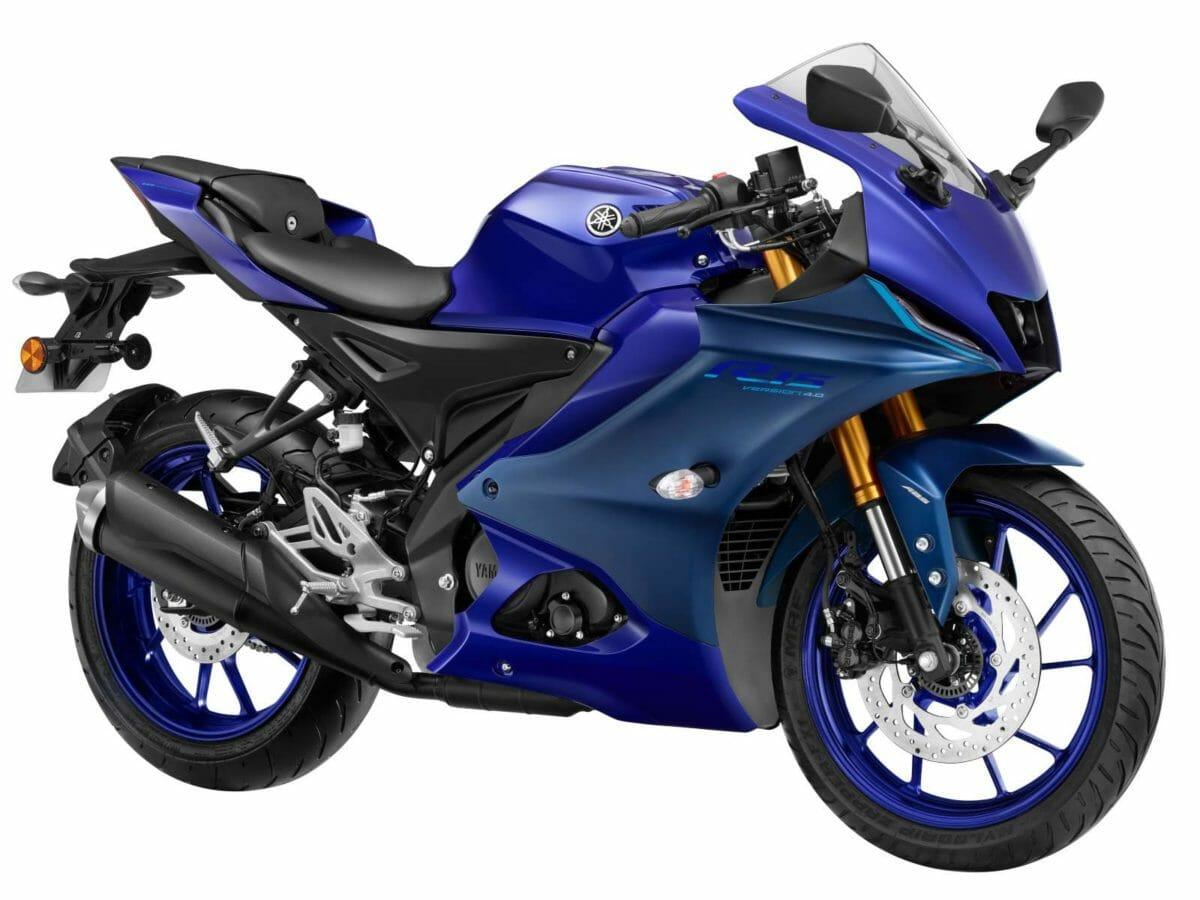 Yamaha Racing Blue YZF R15 V4
