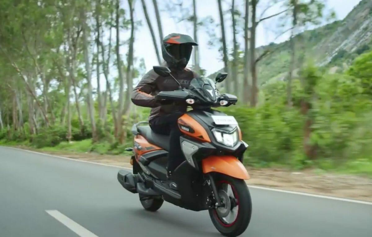 Yamaha RayZR 125 Fi Hybrid