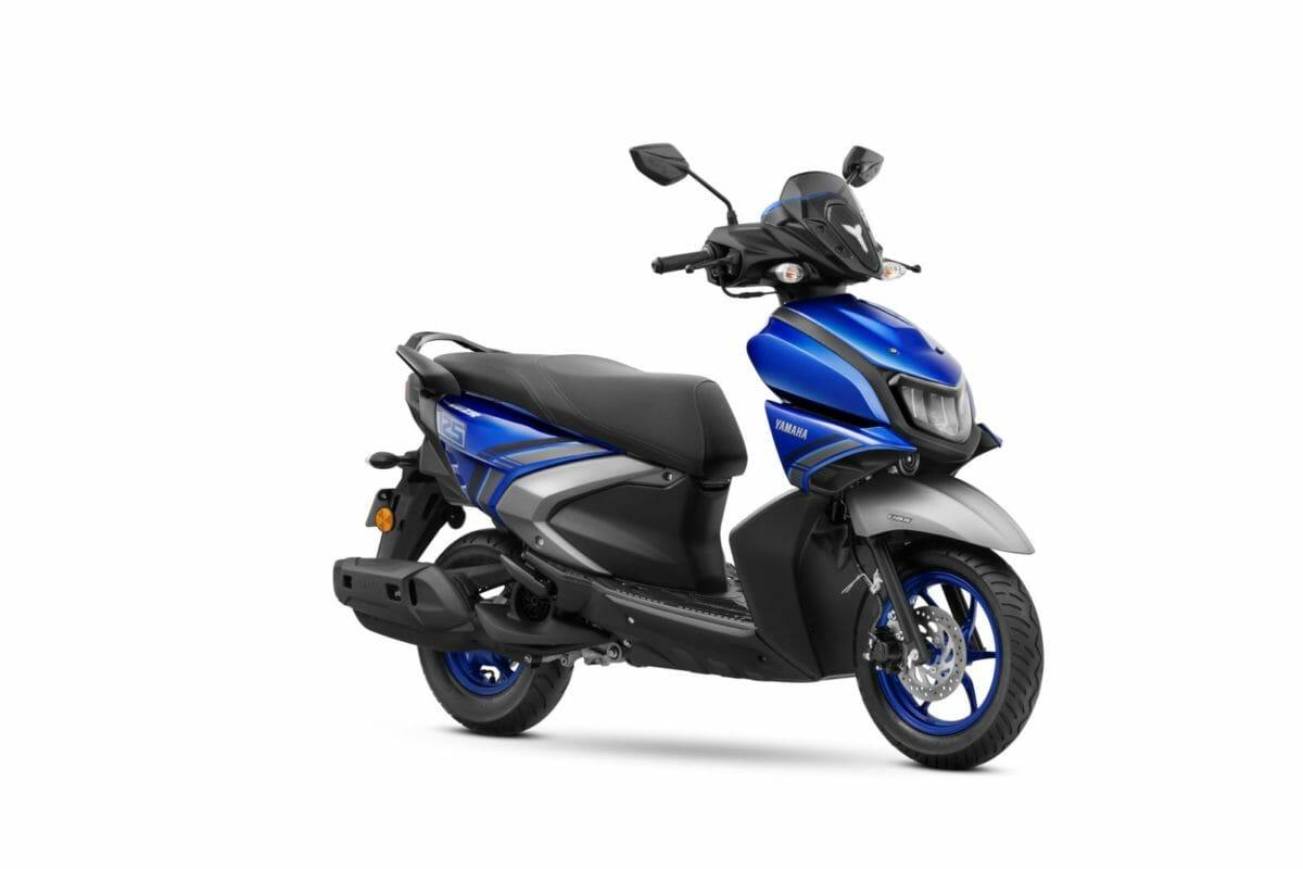 Yamaha RayZR Blue