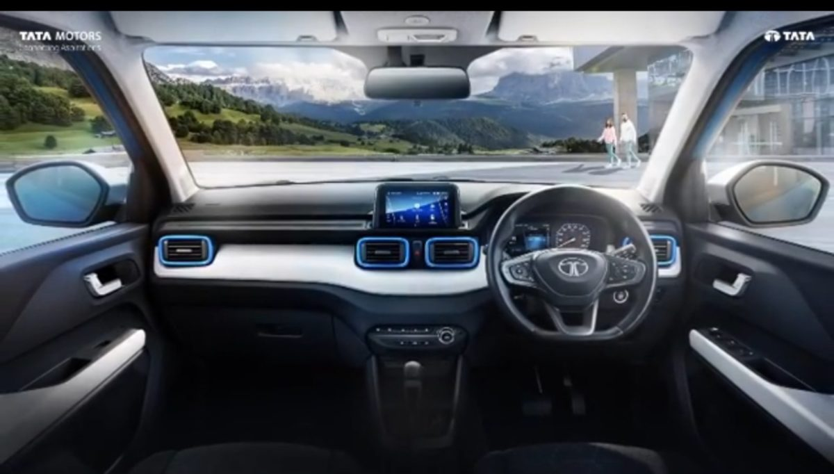 tata punch interiors revealed officially 2