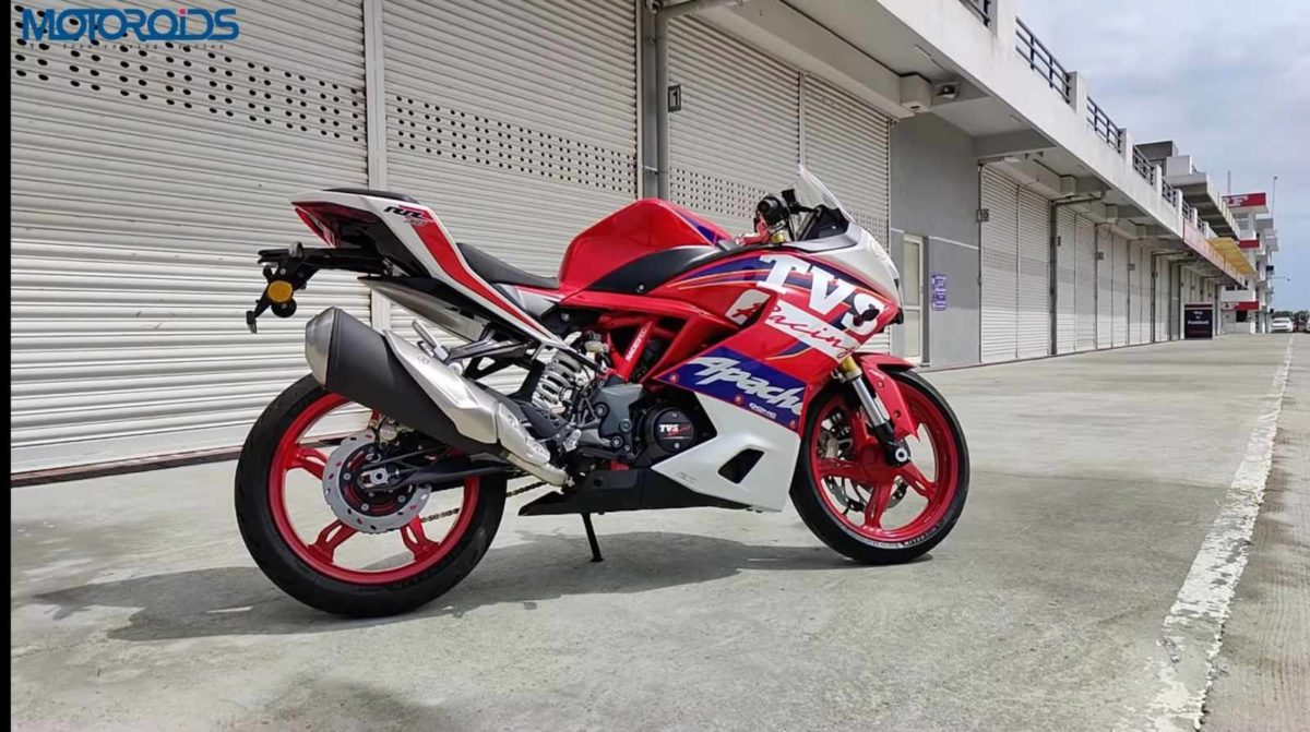 tvs apache 310 rr review side