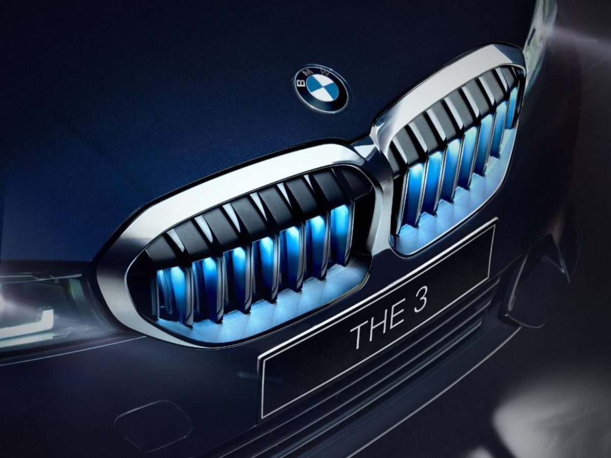 BMW 3 Series gran limo iconic edition grille