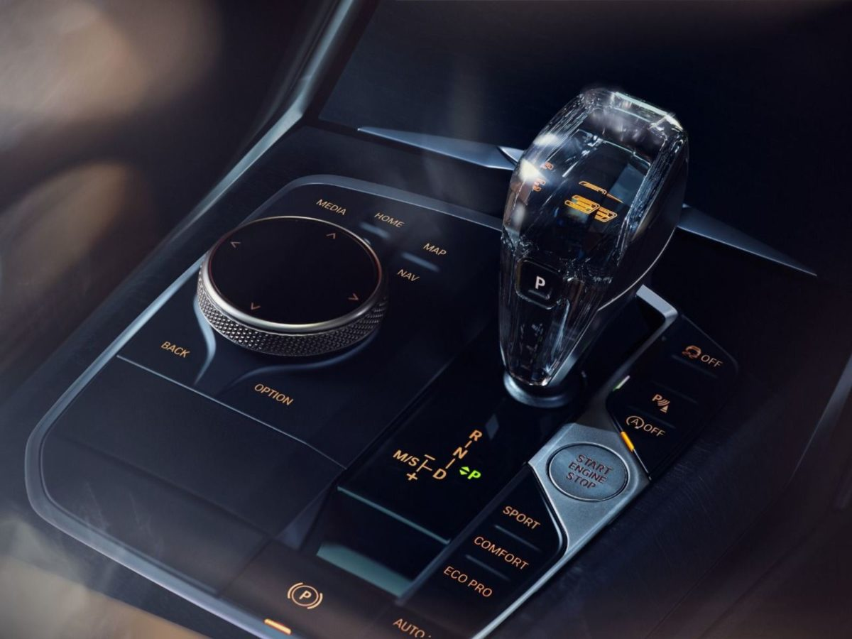 BMW 3 series gran limo iconic edition gear knob