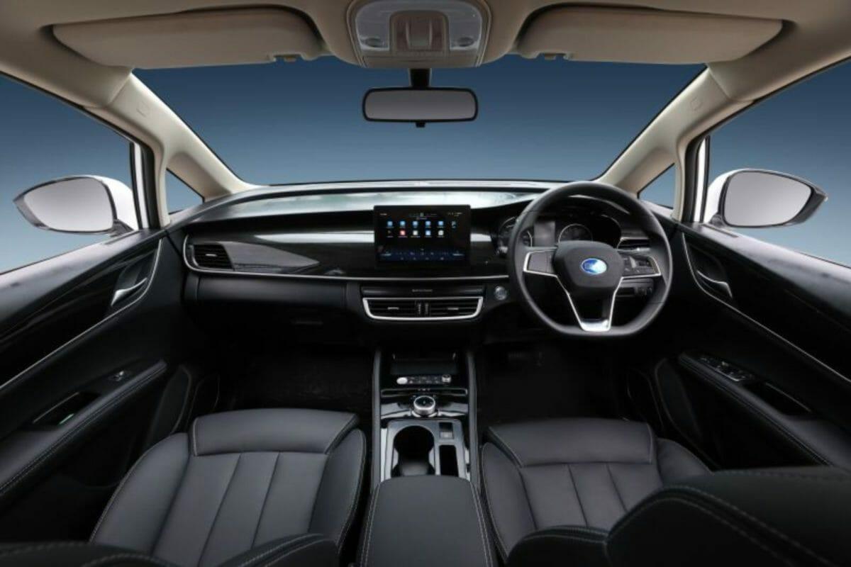 BYD E6 interior