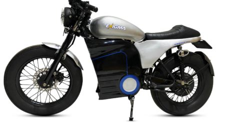 Enigma To Unleash Its Electric Café-Racer Around Diwali With 140KM Range And 136 Km/h Top Speed