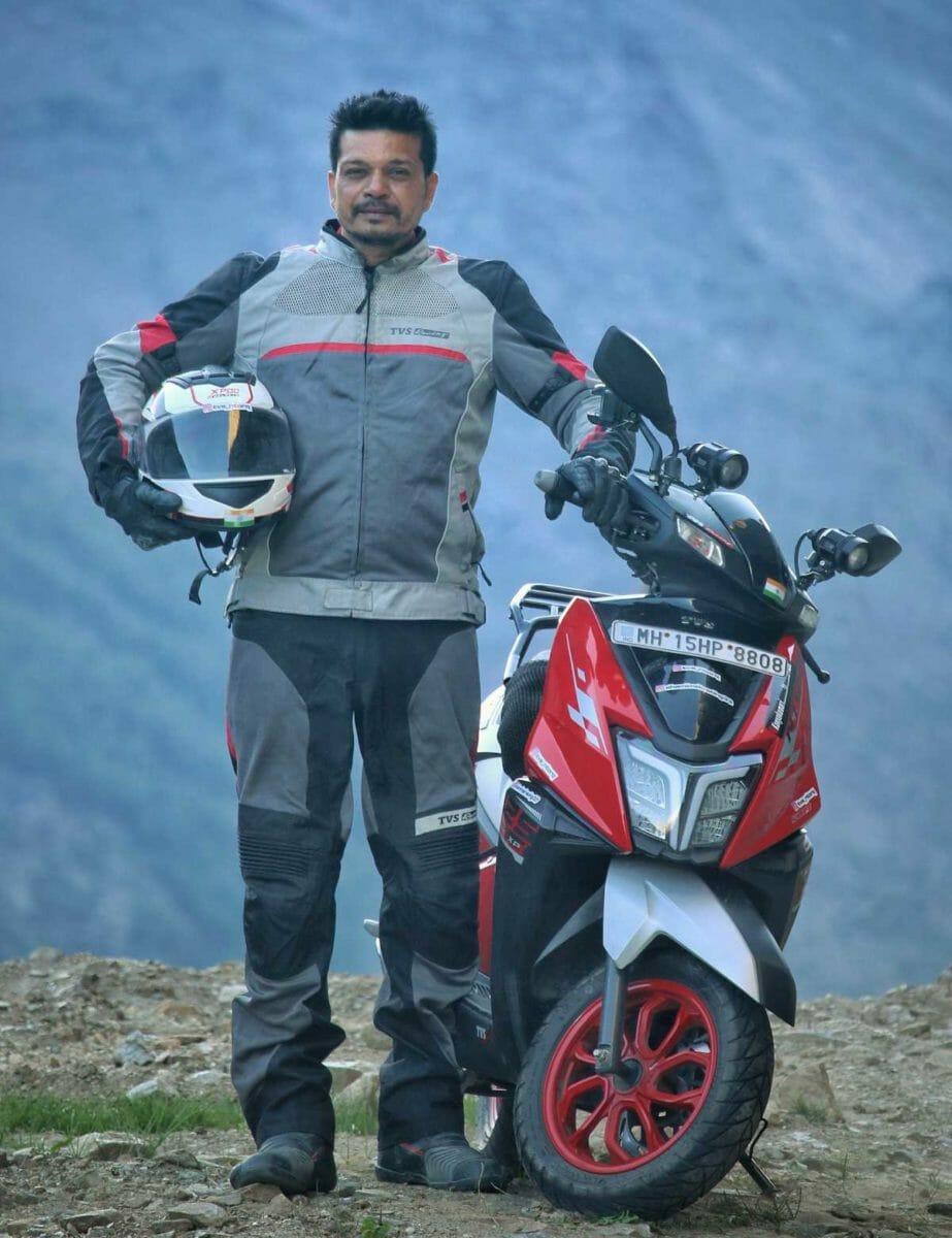 TVS Ntorq 125 Race XP Shamim Khan (1)