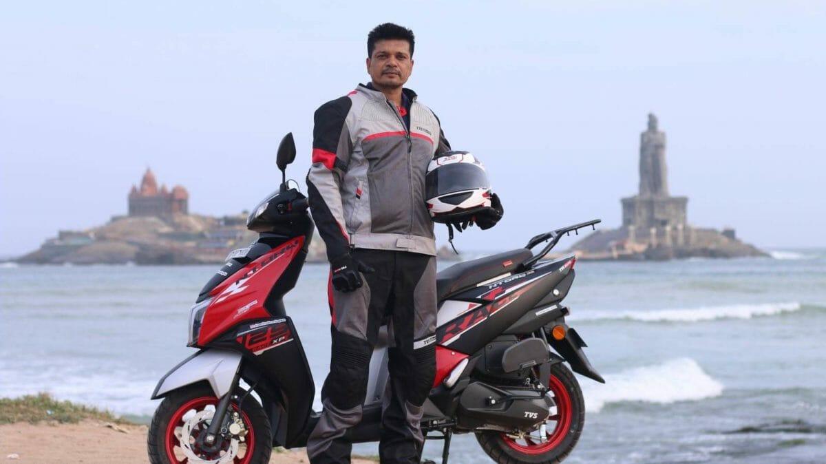 TVS Ntorq 125 Race XP Shamim Khan (3)