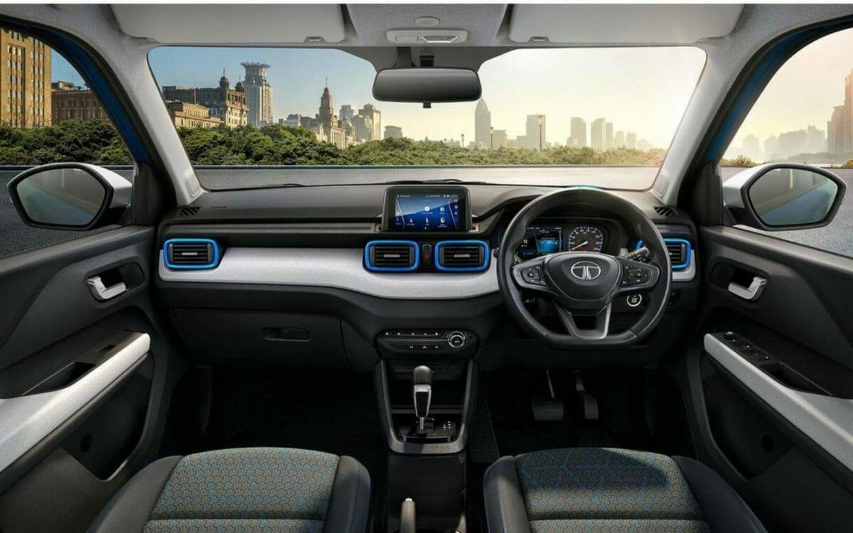 Tata Punch interiors