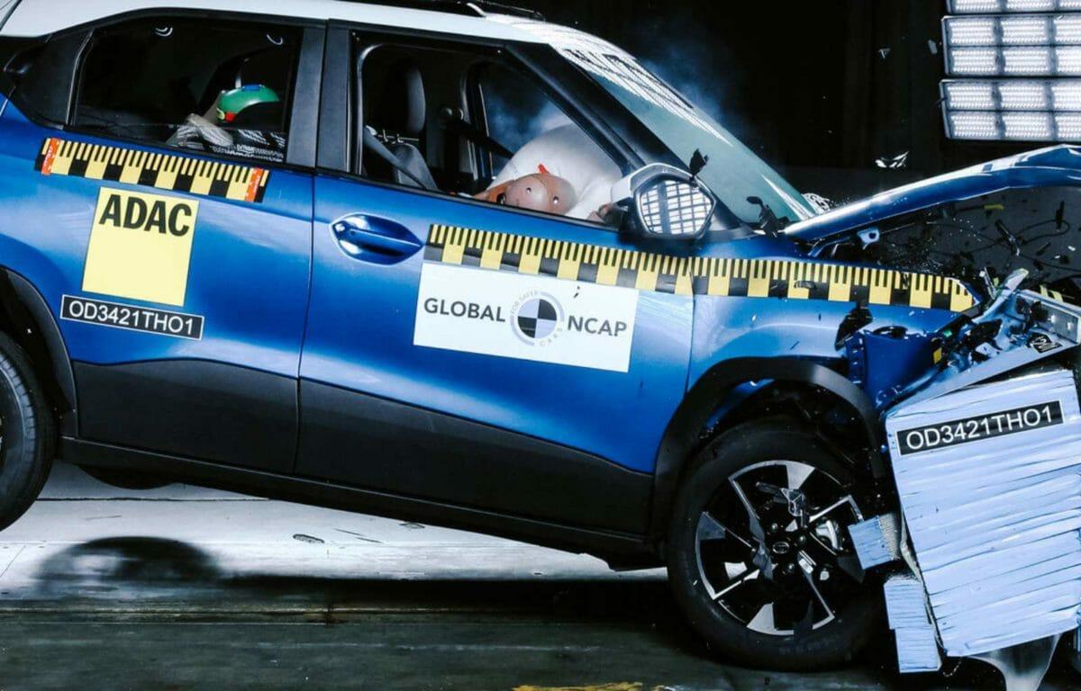 Tata Punch scores 5 stars in crash test