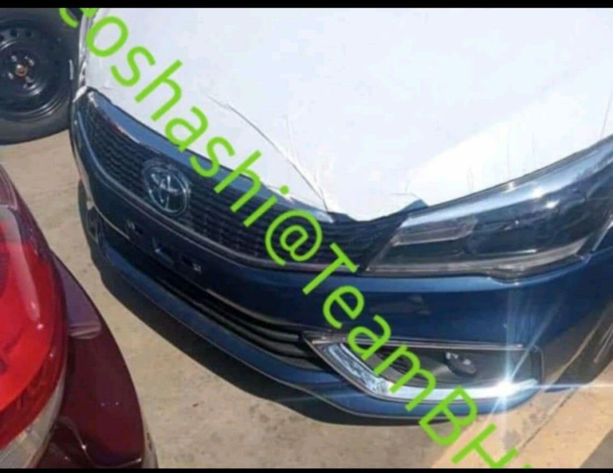 Toyota Belta LHD front