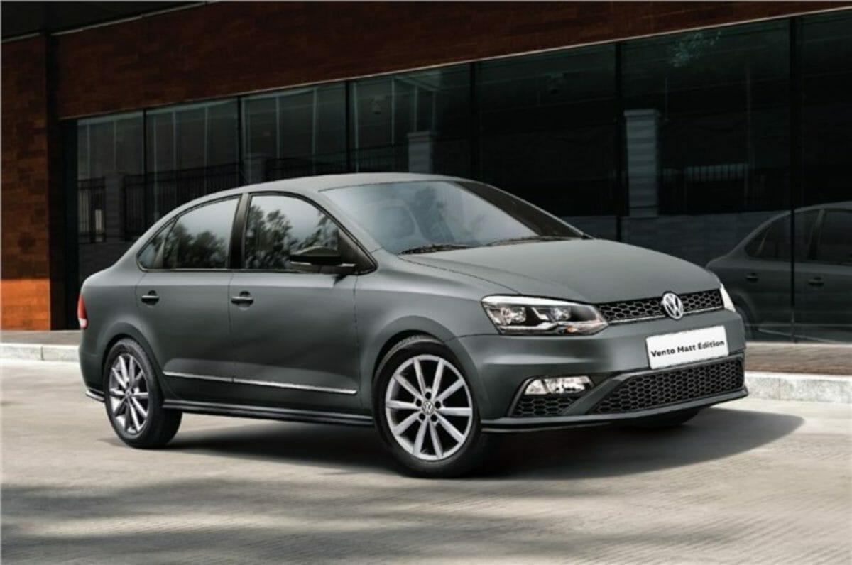 VW Vento matte edition