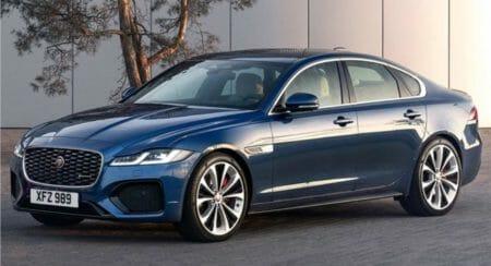 jaguar xf facelift front